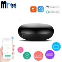 Tuya     telecommande infrarouge sans fil pour climatiseur  fonctionne avec Alexa Google Home Smart Life