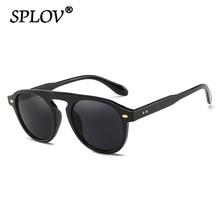 Retro Men Sunglasses Women Vintage Elegant Sun Glasses Brand Designer Fasion Round Rivet Eyewear Top
