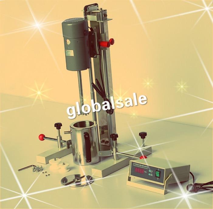 FREE SHIPPING FS-400D High Speed Disperser Laboratory Mixer Homogenizer Grinding Dispering Machine Paint ink Dispersion Machine
