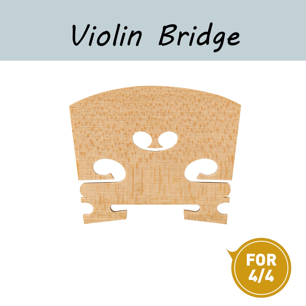 Standard Maple Wood Violin Bridge For 4/4 3/4 1/2 1/4 1/8 Acoustic Violin Use Maple Violin Bridge adjustable standard bridge bass violin bridge double bass bridge standard maple 1 2 3 4 4 4 double bass bridge