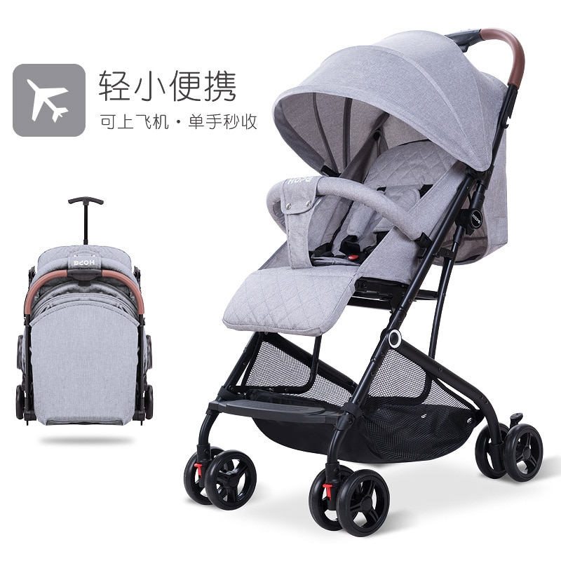 Stroller Pushchairs Are Lightweight and Easy To Ride or Lie Down Baby Pushchairs with Shock Absorbers for Children enlarge