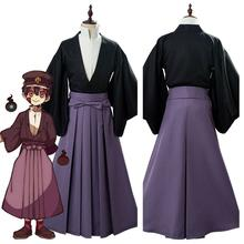 Toilette liée hanako-kun Yugi Tsukasa tenue uniforme Costume de Cosplay Yugi Tsukasa perruque Halloween hommes femmes JK kimono costume