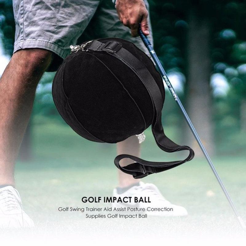 Trainging SIDA 15cm Swing de Golf Asistente de Golf entrenamiento negro fuerte Golf al aire libre la postura de corrección