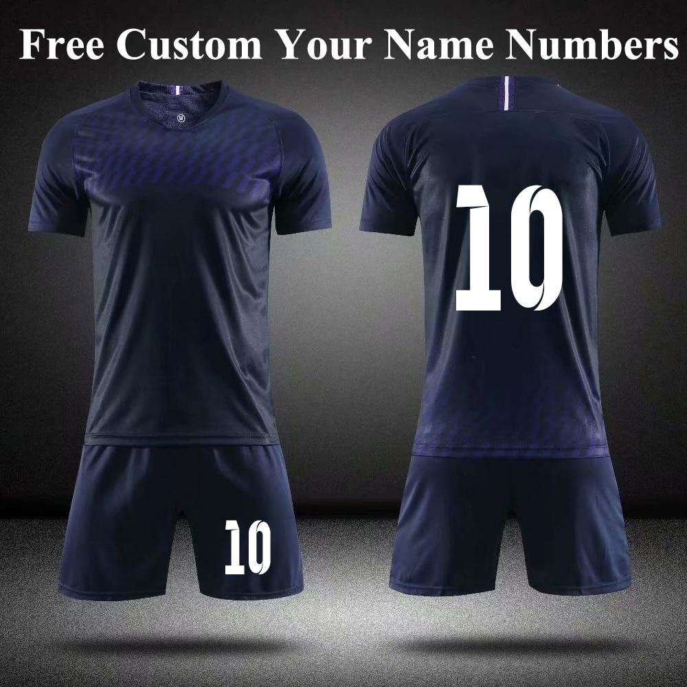 NEW England football Adult Kids Soccer Jersey Set Football Kit Lilywhites Away jersey Men Child Futbol Training Uniforms Set TEE