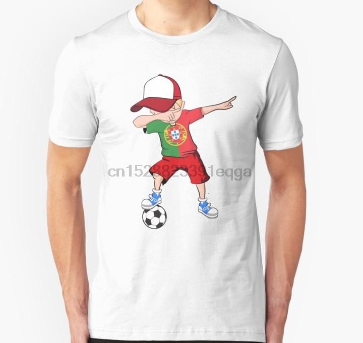 Camiseta de manga corta para hombre, camiseta de fútbol para chico Portugal, camiseta de fútbol portugués, camiseta para mujer