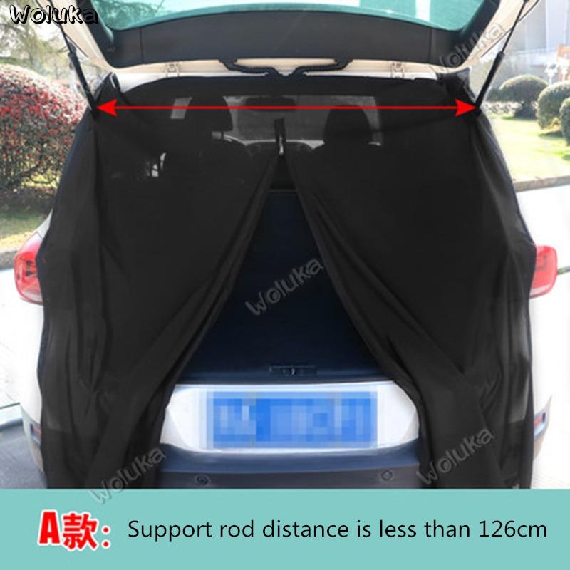 Carro anti-mosquito cortina toldo carro mala do carro malha gaze cauda porta mosquiteiro CD50 Q03
