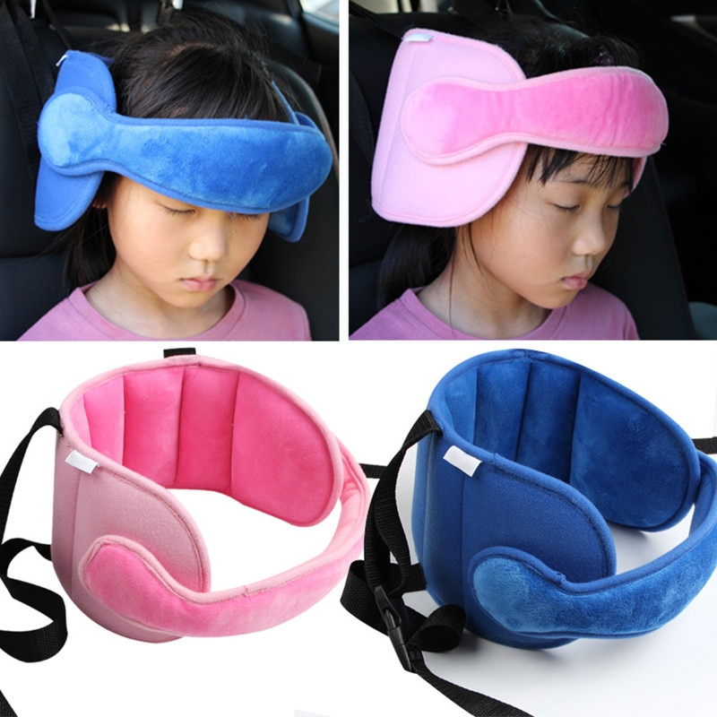 Детская регулируемая подушка для автомобильного сиденья, мягкая фиксированная Подушка для сна, защита шеи, подголовник, позиционеры для сн...