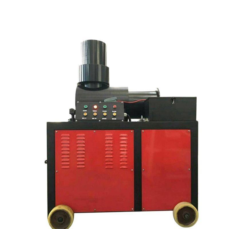 Steel Bar End Upset Forging Machinery 40mm Double Cylinder Rebar Upsetting Machine
