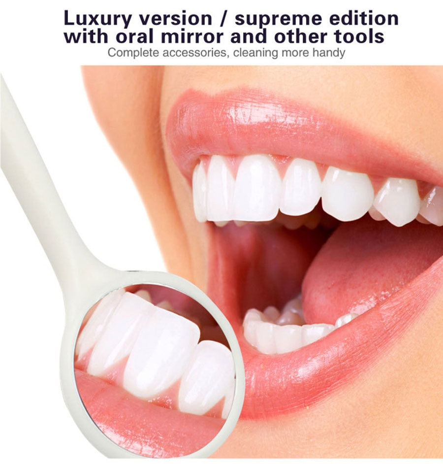 Household Ultrasonic Calculus Remover Dental Scaling Electric Sonic Dental Scaler Smoke Stains Tartar Plaque Teeth White enlarge