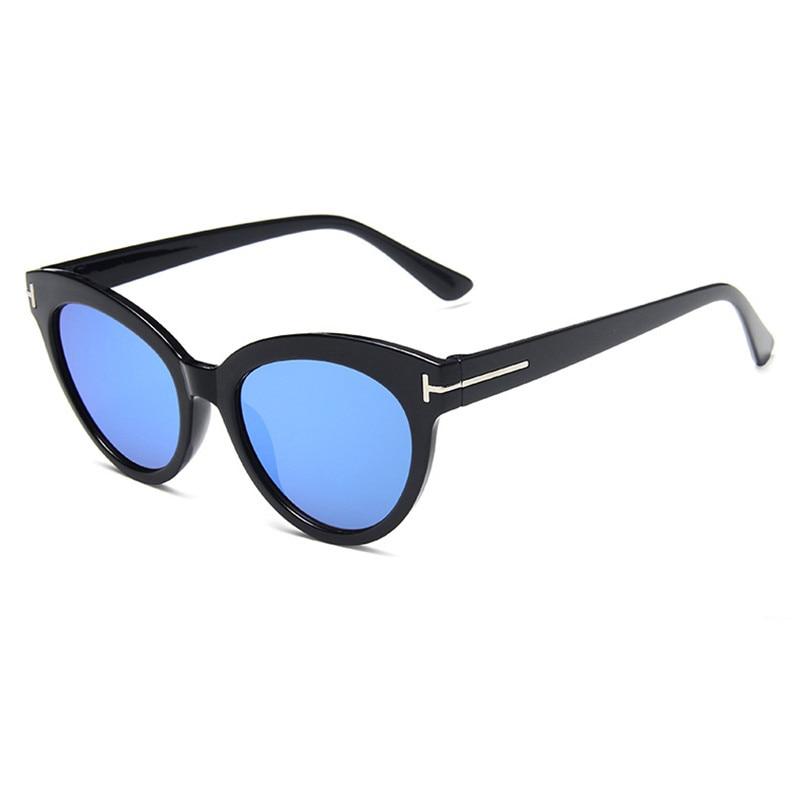 CURTAIN 2020 Fashion Eyewear Cat Eye Women Sunglasses Female Gradient Points Sun Glasses Oculos femi
