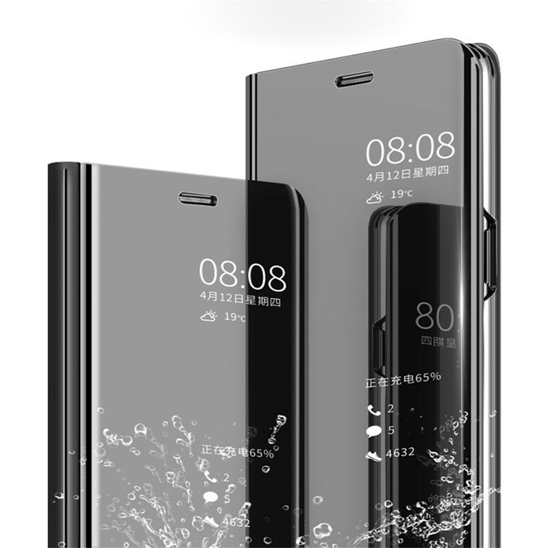 Espelho inteligente Case For Huawei Honor 8 Lite 9 9I 10 Lite Lite Nota 10 2019 Honra Silicone TPU Macio revestimento Macio para Huawei Honor