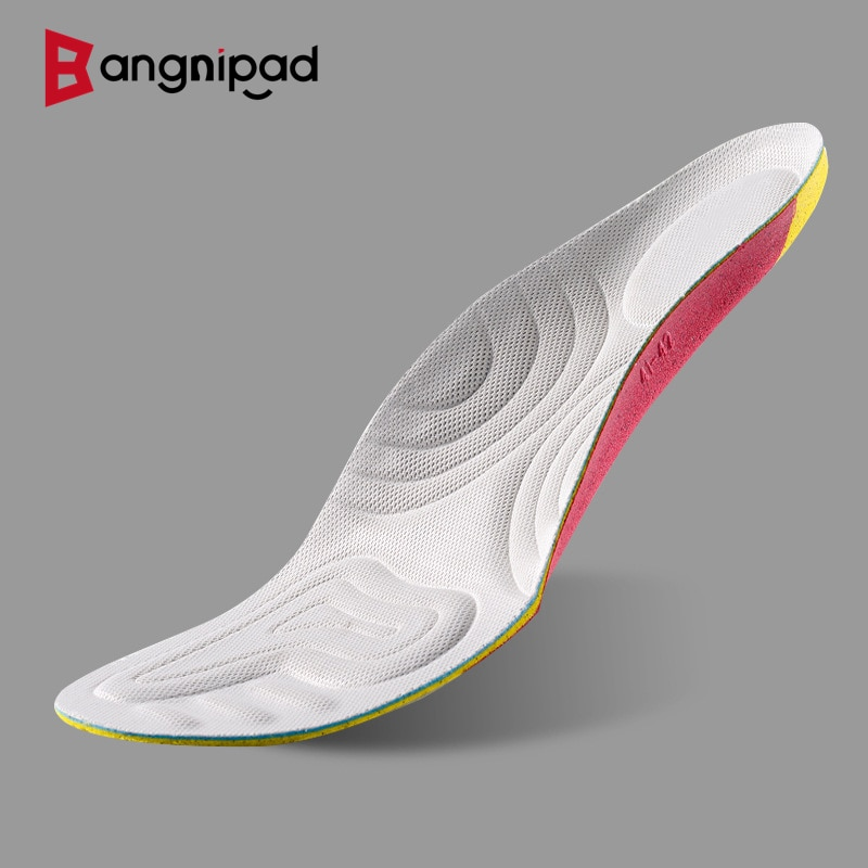 BANGNIPAD Basketball Volleyball Insoles Sports Protection Professional Insoles High Elasticity Shock Absorption Breathable Pads