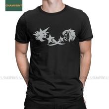 Men Kingdom Hearts Kairi Sora Cave Etching T Shirts Video Game Square Enix Keyblade Cotton Short Sleeve Tees Original T-Shirts