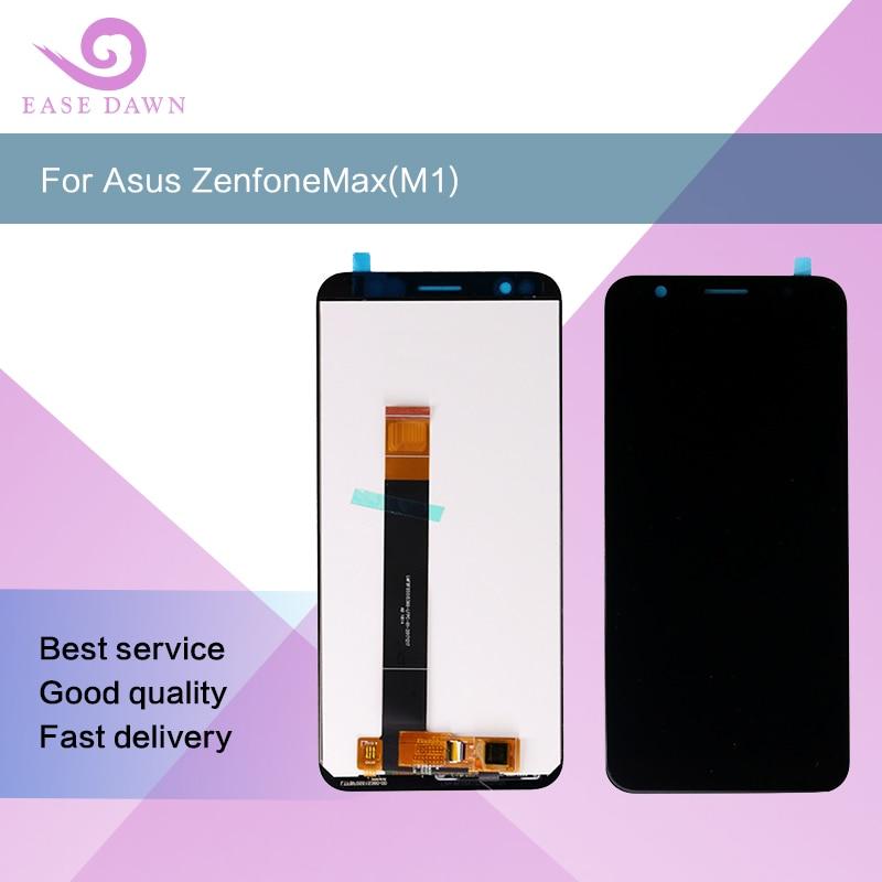 Para asus zenfonemax (m1) zb5555kl x00pd ips lcd tela digitador assembléia peças de reposição reparo para asus display original