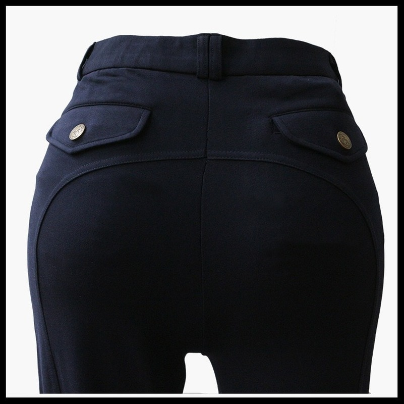 Equestrian Breeches Horse Riding Knitted Fabric Men Breathable Harness Equestrian High Elasticity  Womens Jodhpurs Pants