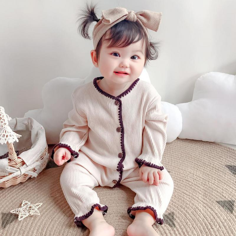 newborn jumpsuits tpure cotton long sleeve package ifantile clothes baby clothes climbing clothes spring autumn baby boy romper Baby Boy Romper Clothes Newborn Girl Rompers Cotton Long Sleeve Jumpsuit Outfits Autumn Kids Baby Clothes