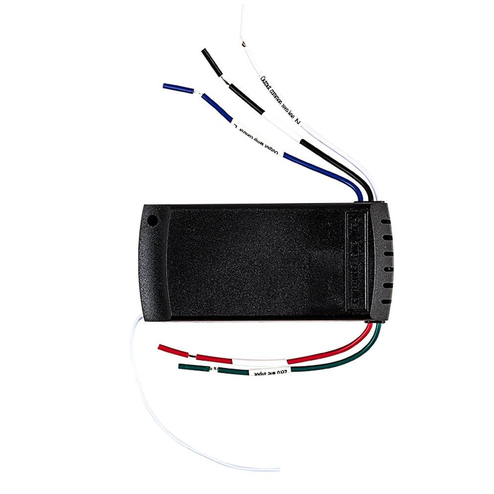 Universal de larga distancia remota casa uso inalámbrico ventilador de techo lámpara con mando a distancia + sincronización inalámbrica Set de mando a distancia