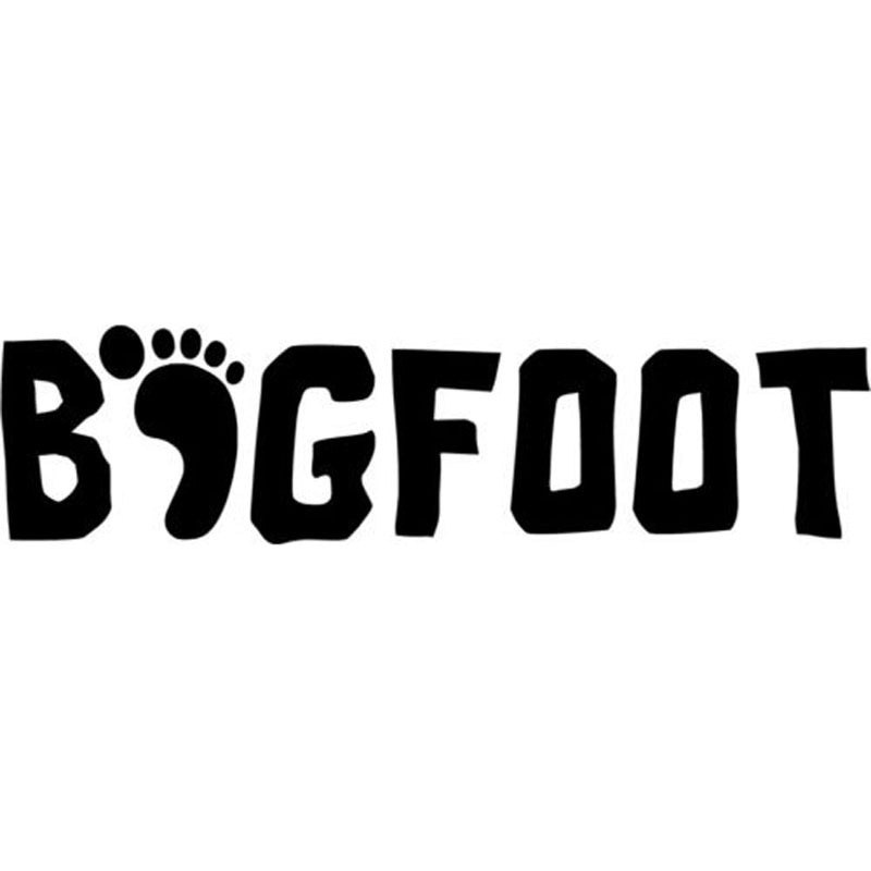 16cm * 4cm Bigfoot Sasquatch Yeti snowboard snowboard Adesivo e Vinil Decalques Blacksilver Styling Decal Adesivo snowboard