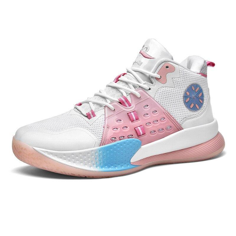 Мужские баскетбольные кроссовки, Удобная Нескользящая спортивная обувь, легкая атлетика, 2021