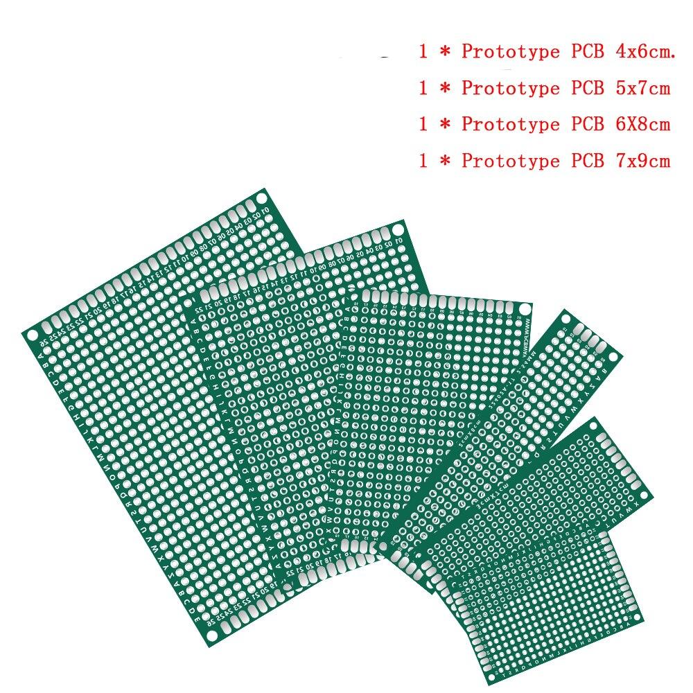 Двусторонняя печатная плата 4 шт./лот 4x