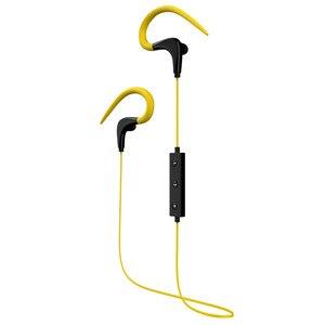 Yulass Headset Wireless Yellow Waterproof Sound Insulation Noise Canceling Little Ear Hook Woman Bluetooth Earphone for Running