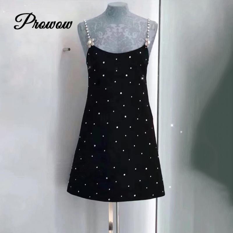 High Quality New Fashion Women's 2020 Autumn Dress Luxury Famous Brand European Design Party Style Dress