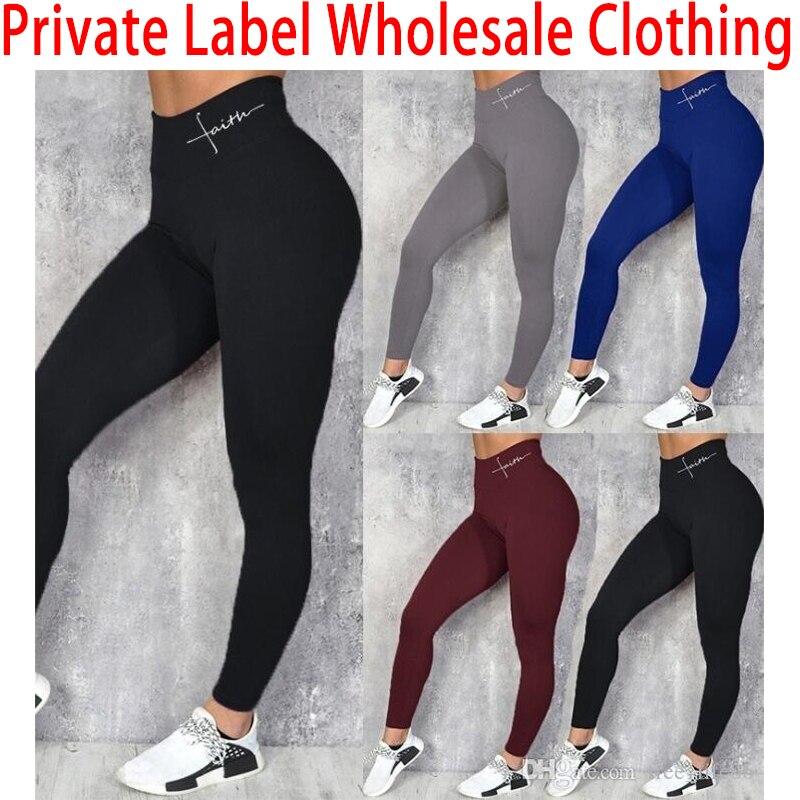 Link da amostra para testar a qualidade -- pode etiqueta privada se encontrar o mínimo-venda por atacado leggings de fitness roupas jeans calcinha lote inferior