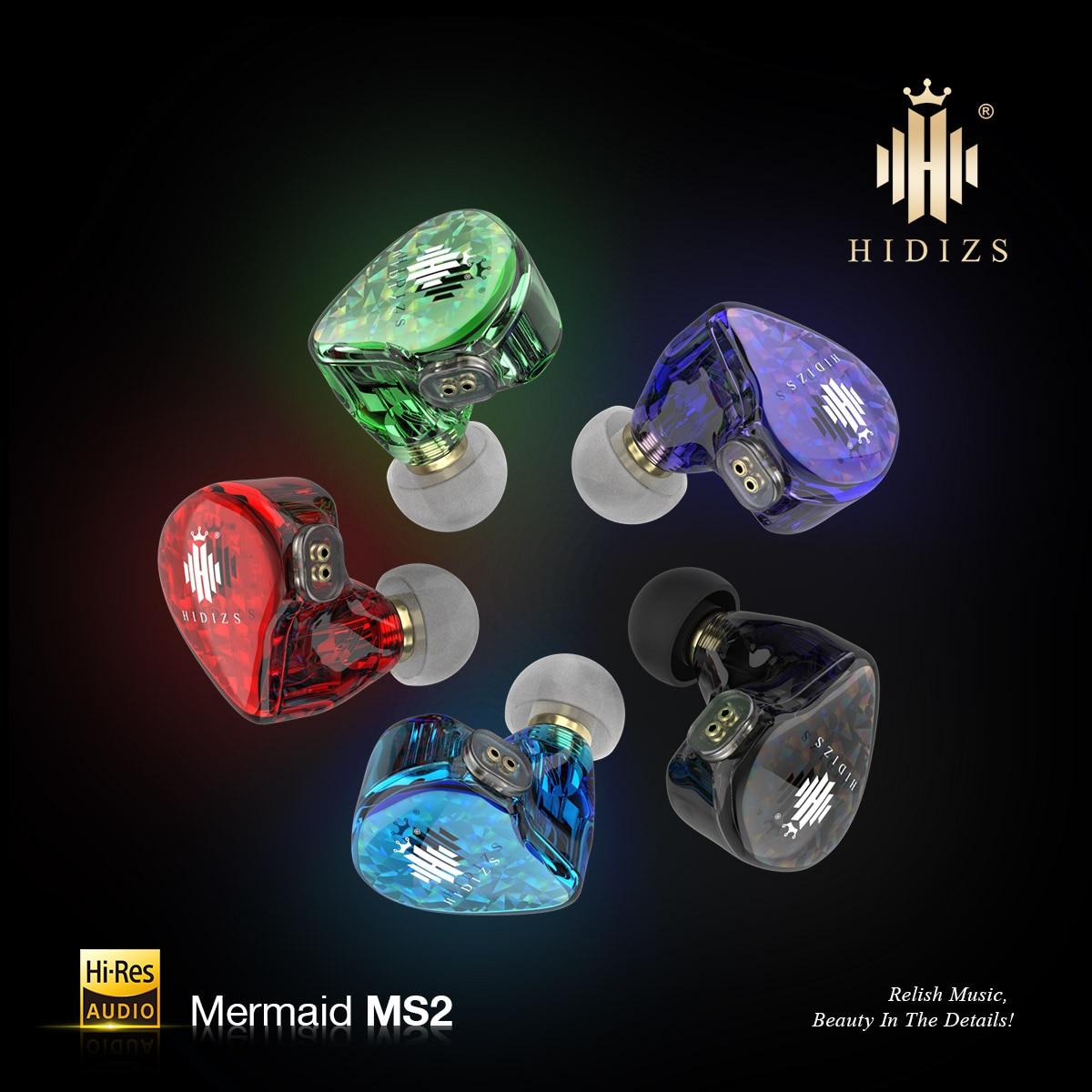Hidizs-auriculares MS2 híbridos HiFi, controladores duales (1 Knowles BA + 1 DD),...