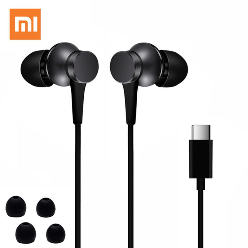 Xiaomi fones de ouvido piston 3 fresh edition, fones intra auriculares, usb TYPE-C, microfone, stereo, para mi 6, 8 9 pro 10 mix 2 3 2s