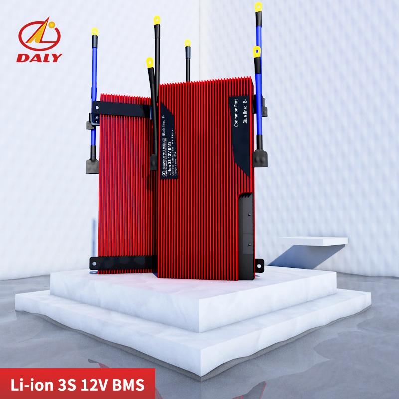 Daly 3,6 В 3,7 В 3S 200A литий-ионный аккумулятор 18650 зарядное устройство Защитная плата PCB BMS 12,6 В модуль для зарядки