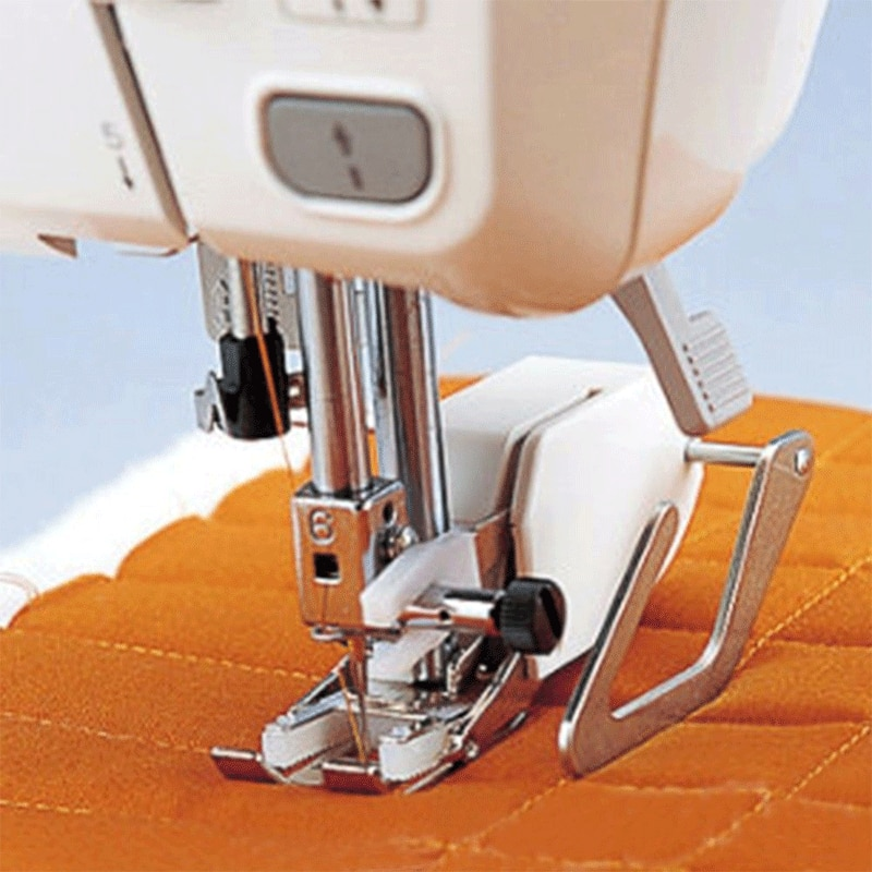 Walking Even Feed Quilting Presser Foot Feet For Low Shank Sewing Machine For Arts Crafts Sewing Apparel Sewing Fabric