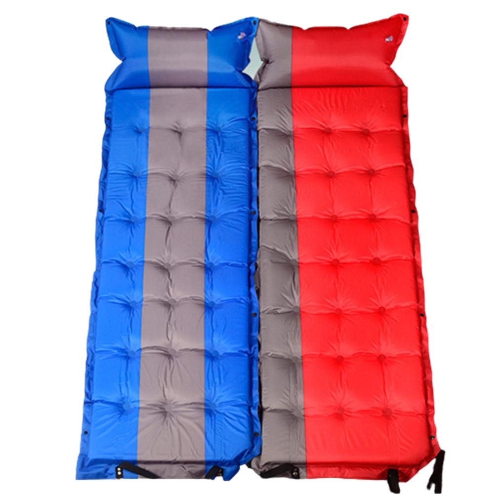 Self inflatable Mattress 21 point Lightweight Sleeping Air Pad Waterproof Moisture-proof Tent Mat Camping Hiking Equipment