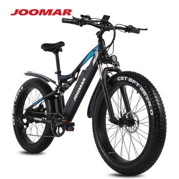 JOOMAR 1000W Electric Bike JM03 Plus Mountain Ebike for Men MTB Fat Tire Snow Bicycle 48V Motor 17AH High Quality Aluminum Alloy