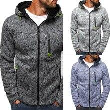 JODIMITTY Men Classic Hoodies Sweatershirt Autumn Zipper Patchwork Cardigan Sweatershirt Male Causal Streetwear Hip Hop fit