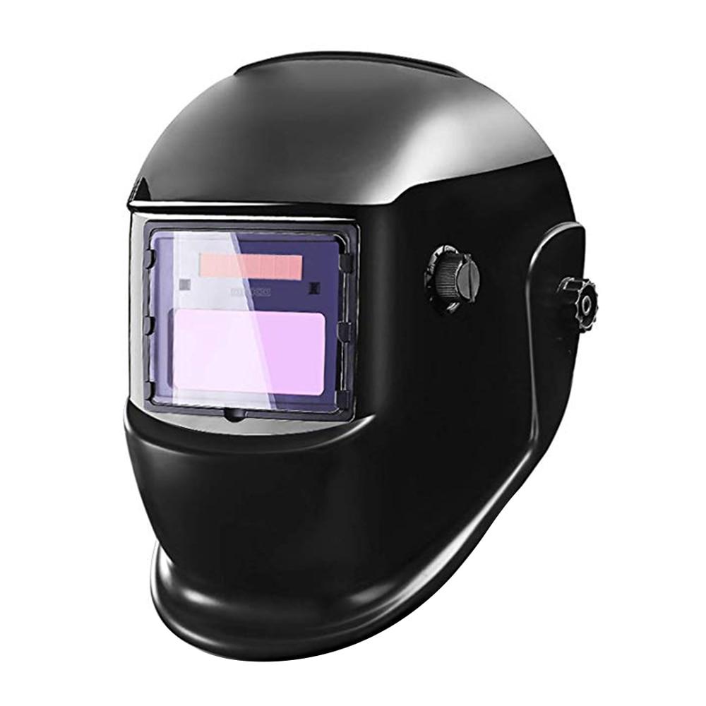 New Electric Welding Mask Helmet Auto Darkening Solar Powered Welders Lens Mask for ARC TIG MIG Grinding Welding Machine