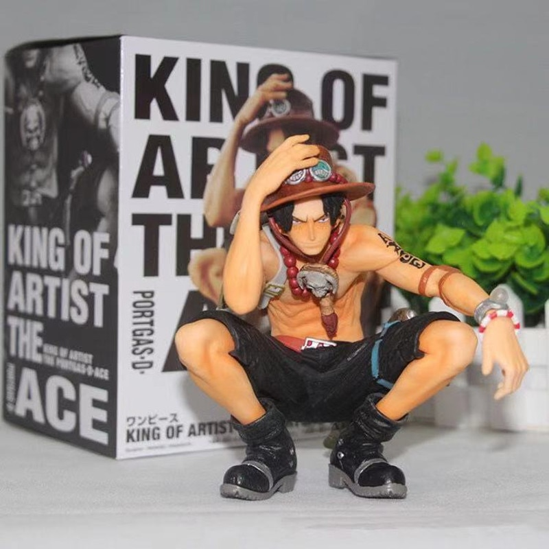Figuras de Ação Peça Portgas Luffy Zoro Brinquedos Japão Anime Collectible Estatueta Pvc Modelo Boneca Brinquedo Uma d Ace