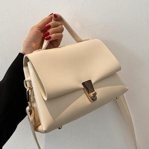 Elegant Female Square Tote bag 2021 New High-quality PU Leather Women's Designer Handbag High capacity Shoulder Messenger Bag