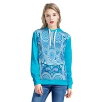2020 new product polynesia guam style print women hoodies customize your image oversized casual comfortable mens pullover hooie