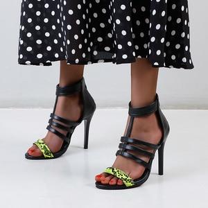 women shoes 2021  high heels  Gladiator  sandles  heels women  chunky heels  shoes for women sandals  zapatos de mujer 32-48