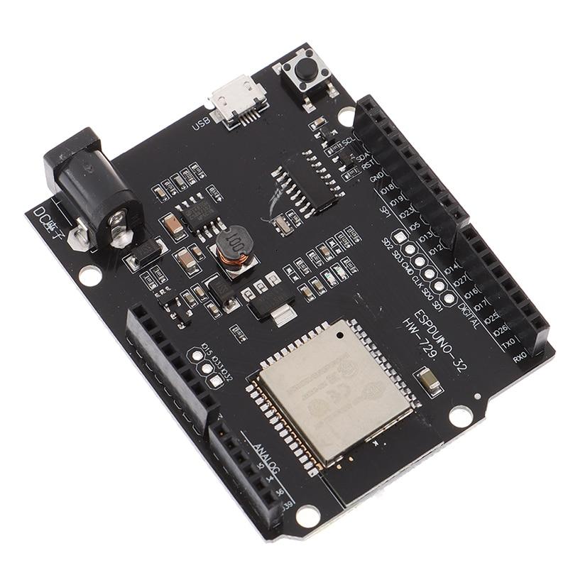 Nuevo para Wemos D1 ESP32 ESP-32 WiFi Bluetooth 4MB Flash UNO D1 R32 Módulo de placa CH340 CH340G Placa de desarrollo para Android