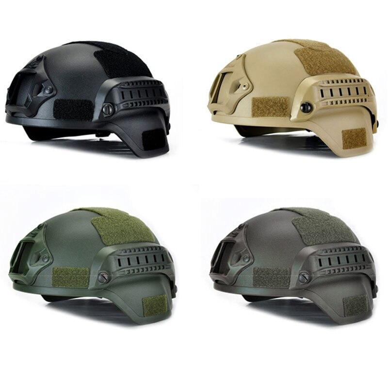 Nuevo MICH 2000 militares casco airsoft militar táctico contra la cabeza de guerra cascos paintball de SER88