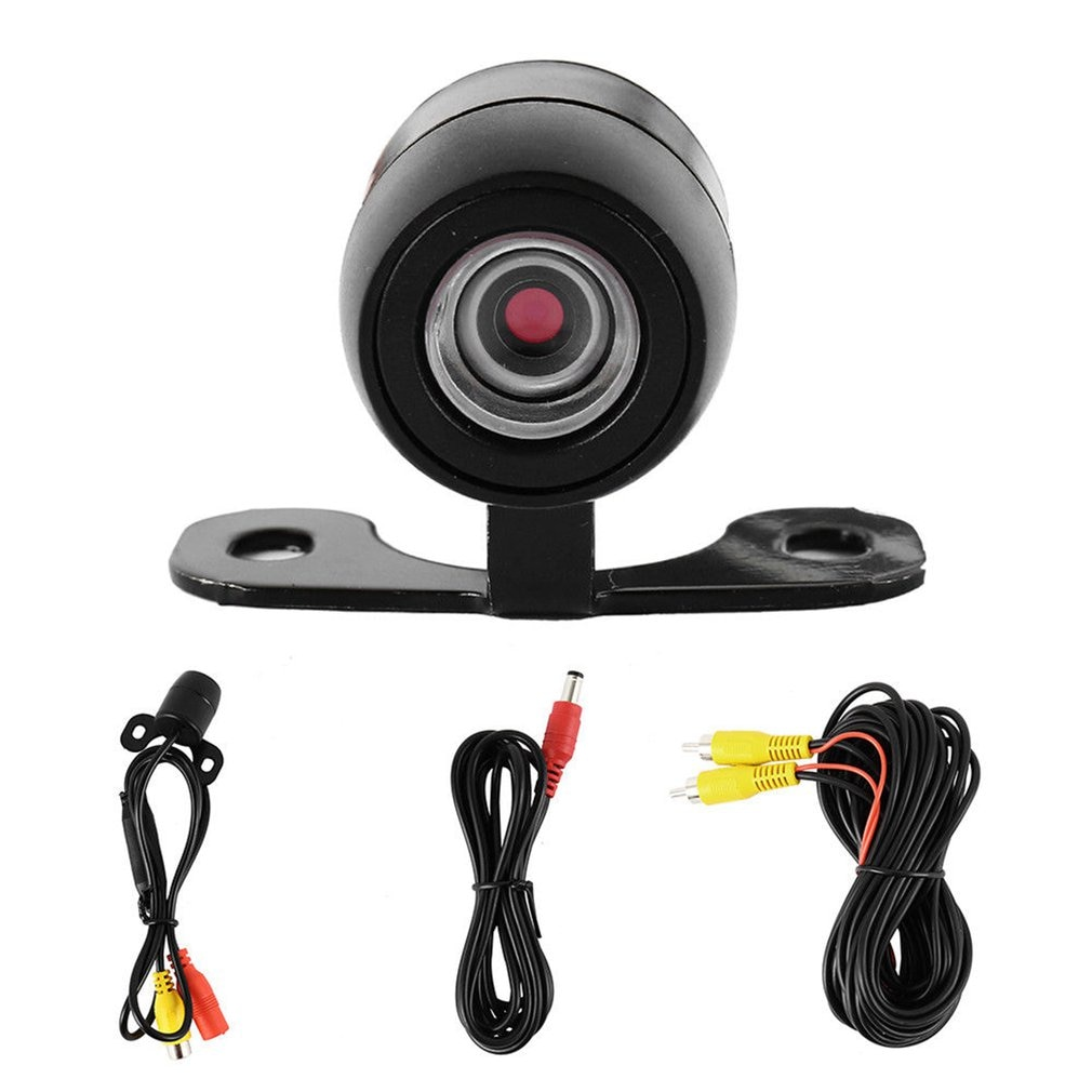 170 Degree Hd Camera Cmos Car Rear / Front Side View Reversing Waterproof Back Pull