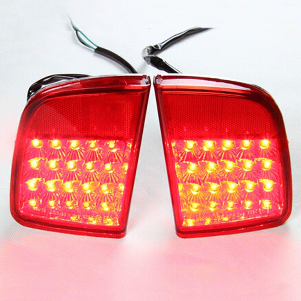 Luces LED exteriores de parachoques trasero luces antiniebla lámpara para montaje de lexus LX570 LX 570 toyota LAND CRUISER LC200 FJ200 5700 4700