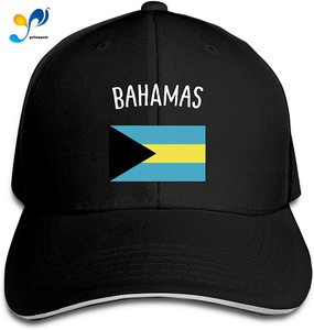 Bah-Amas Flag Plain Casquette Sunhat Adjustable Sandwich Cap Baseball Hats