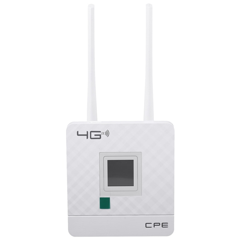3G 4G LTE Wifi Router 150Mbps Portable Hotspot Unlocked Wireless CPE Router with Sim Card Slot WAN/LAN Port