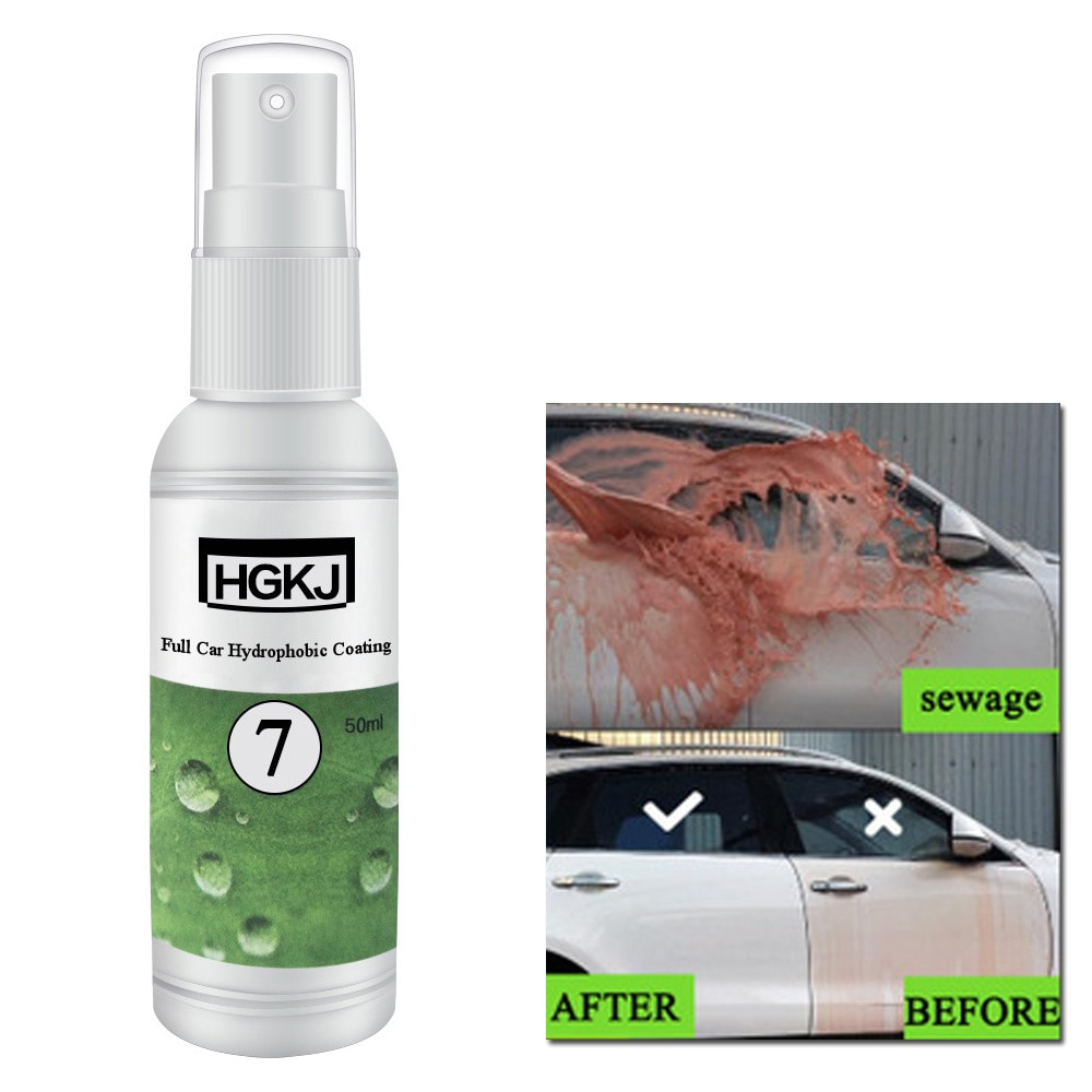 Substituição hidrofóbica revestimento solução repelente farol impermeável