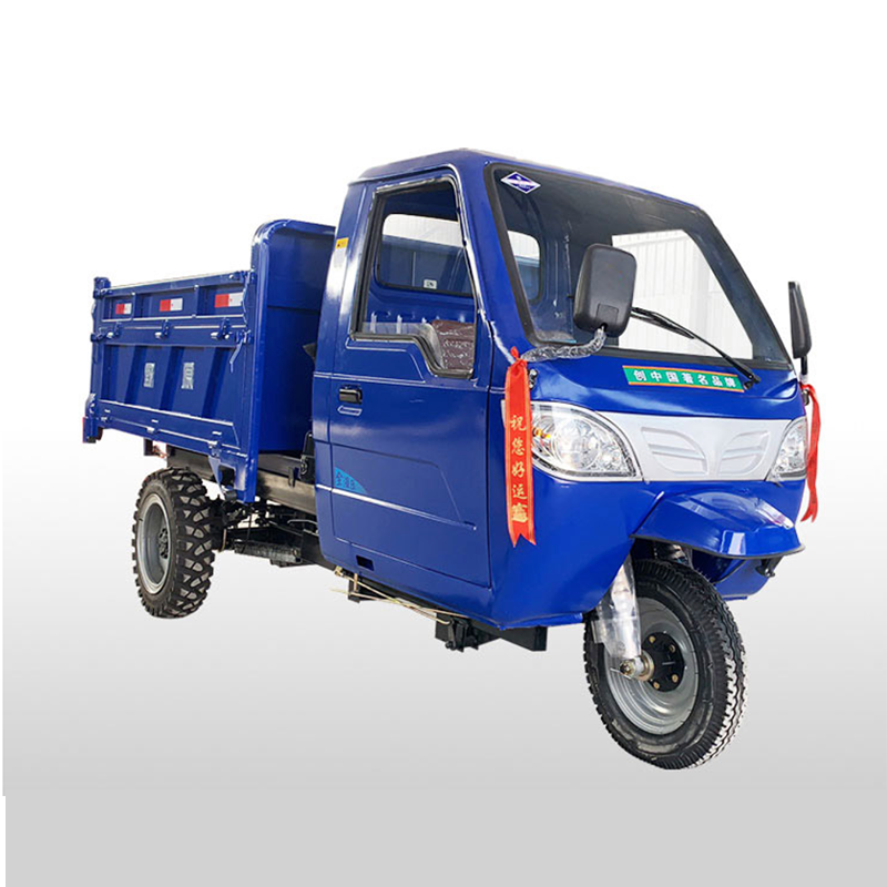 car type 25HP U-shaped engineering carriage farmland vehicle tricycle power diesel tractor dump truck climbing mountain loader