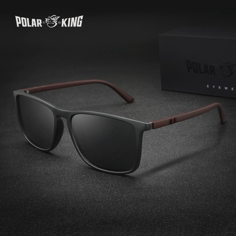 Polarking New Luxury Polarized Sunglasses Men's Driving Shades Male Sun Glasses Vintage Travel Fishing Classic Sun Glasses 400