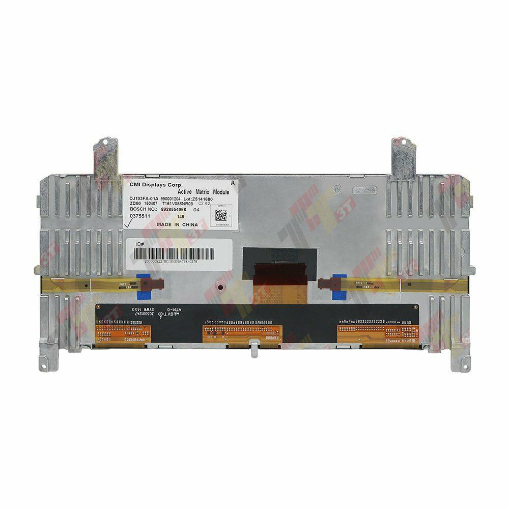 Tela de instrumento DJ103FA-01A para bmw, tela f01 f02 f07 f10 f11 6wb, painel lcd de led completo 9363263