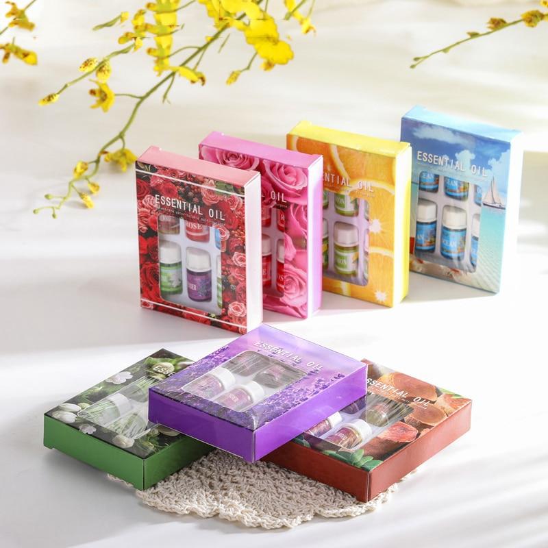 Essential Oils For Aromatherapy Diffusers Massage Fragrances Oil Rose Oils Lavender Lemon Help Sleep